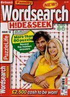 Family Wordsearch Hide Seek Magazine Issue NO 12
