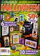 Just Cross Stitch Magazine Issue HALLOWEEN
