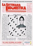 La Settimana Enigmistica Magazine Issue NO 4665