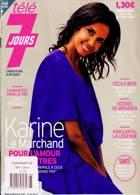 Tele 7 Jours Magazine Issue NO 3195