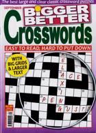 Bigger Better Crosswords Magazine Issue NO 9