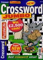 Family Crossword Jumbo Magazine Issue NO 12