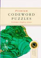 Premium Codeword Puzzles Magazine Issue NO 84