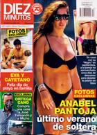 Diez Minutos Magazine Issue NO 3653