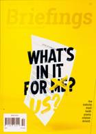 Briefings Magazine Issue NO 50