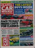 Classic Car Weekly Magazine Issue 01/09/2021