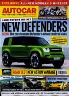 Autocar Magazine Issue 01/09/2021