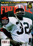Beckett Nfl Football Magazine Issue SEP 21