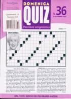 Domenica Quiz Magazine Issue NO 36