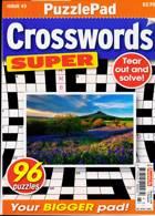 Puzzlelife Crossword Super Magazine Issue NO 43