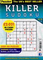 Puzzler Killer Sudoku Magazine Issue NO 188