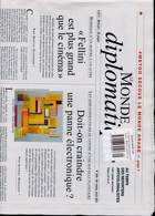 Le Monde Diplomatique Magazine Issue NO 809