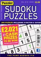 Puzzler Sudoku Puzzles Magazine Issue NO 213