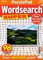 Puzzlelife Wordsearch Super Magazine Issue NO 43