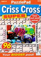 Puzzlelife Criss Cross Super Magazine Issue NO 43