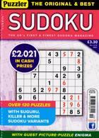 Puzzler Sudoku Magazine Issue NO 219