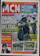 Motorcycle News Magazine Issue 08/09/2021