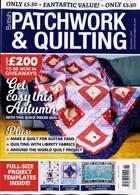 British Patchwork & Quilting Magazine Issue NOV 21