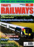 Todays Railways Uk Magazine Issue OCT 21