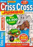 Family Criss Cross Jumbo Magazine Issue NO 103