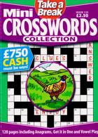 Tab Mini Crossword Coll Magazine Issue NO 133
