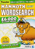 Puzz Mammoth Fam Wordsearch Magazine Issue NO 81