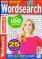 Family Wordsearch Magazine Issue NO 372