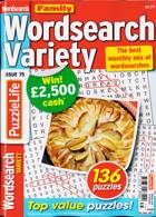 Family Wordsearch Variety Magazine Issue NO 75