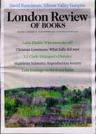 London Review Of Books Magazine Issue VOL43/18