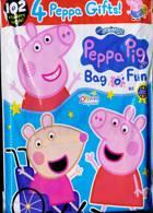Peppa Pig Bag 0 Fun Magazine Issue NO 145