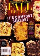 Bhg Specials Magazine Issue FALLRECIPE