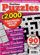 Teatime Puzzles Magazine Issue NO 13