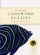 Premium Codeword Puzzles Magazine Issue NO 85