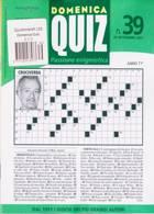 Domenica Quiz Magazine Issue NO 39