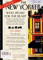New Yorker Magazine Issue 04/10/2021