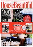 House Beautiful  Magazine Issue NOV 21
