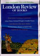 London Review Of Books Magazine Issue VOL43/19
