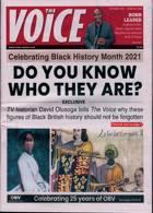 Voice Magazine Issue OCT 21