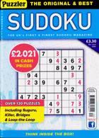 Puzzler Sudoku Magazine Issue NO 220
