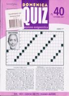 Domenica Quiz Magazine Issue NO 40