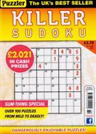 Puzzler Killer Sudoku Magazine Issue NO 189