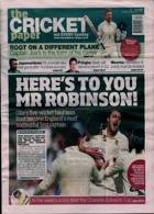 Cricket Paper Magazine Issue 29/08/2021