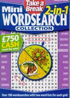 Tab Mini 2 In 1 Wordsearch Magazine Issue NO 44