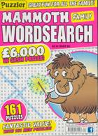 Puzz Mammoth Fam Wordsearch Magazine Issue NO 82