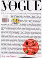 Vogue Italian Magazine Issue NO 852