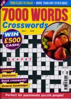 7000 Word Crosswords Magazine Issue NO 1