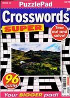 Puzzlelife Crossword Super Magazine Issue NO 44