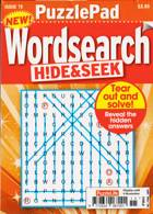 Puzzlelife Ppad Wordsearch H&S Magazine Issue NO 15