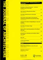Journal Of Architecture Magazine Issue 08