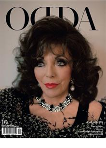 Odda Issue 10 Joan Collins Magazine No10JoanCol Order Online